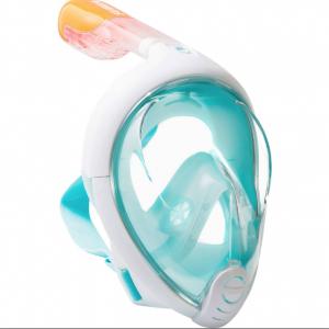 Маска S/M ЗЕЛЕНАЯ для подводного плавания, маска для снорклинга Easybreath Tr (10)