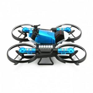 Квадрокоптер-трансформер дрон-мотоцикл на радиоуправлении 2 в 1 (24)