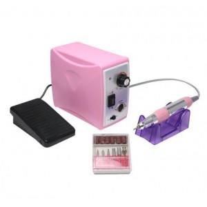 Аппарат для маникюра и педикюра 35000 оборотов 65W, pink
