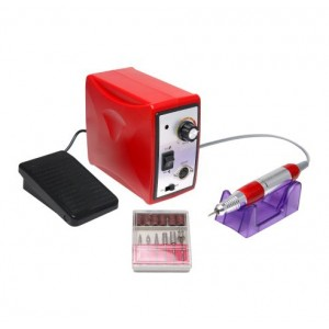 Аппарат для маникюра и педикюра 35000 оборотов 65W, red