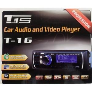 Автомагнитола 1DIN MP3 T-16