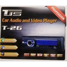 Автомагнитола 1DIN MP3 T-26