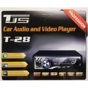 Автомагнитола 1DIN MP3 T-28