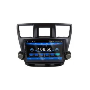 """Мультимедийная система для Toyota Highlander 2009-2014 - 10"""" Android 10.1 4/32"""