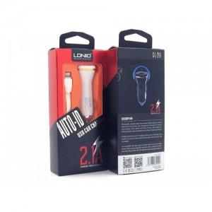 Автомобильное зарядное устройство LDNIO DL-219s + кабель microUSB