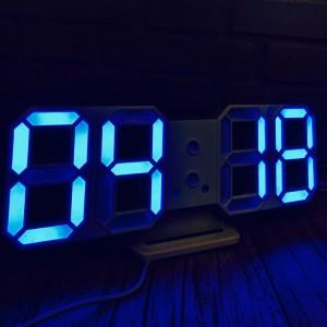 Часы электронные настольные 2218 Blue