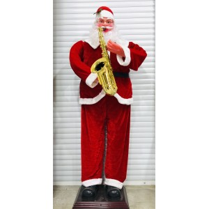 Дед-Мороз с саксофоном
