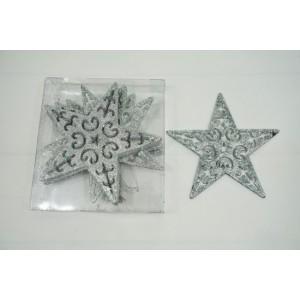 Елочные игрушки (Звезда в блестках)