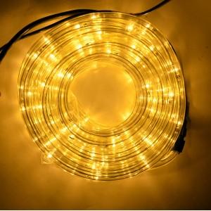 Гирлянда шланг Дюралайт 10 м 2-х жильный желтый