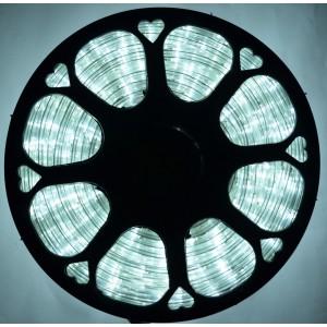 Гирлянда шланг Дюралайт 100 м 2-х жильный белый