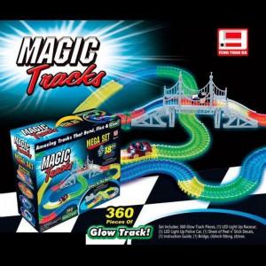 Гоночный трек Magic Tracks 360 деталей 2 машинки