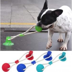 "Іграшка для собак ""Канат з м'ячем"""