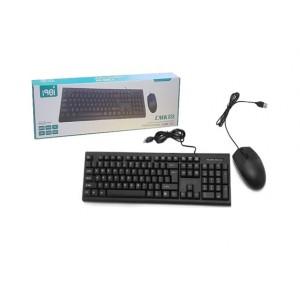 Клавиатура + мышь CMK-858 (проводные)