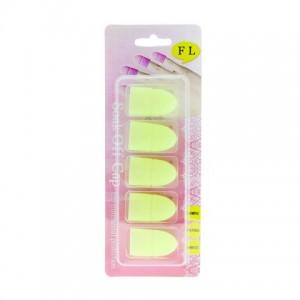 Колпачки для снятия гель лака Neon (в наборе 5 шт.)