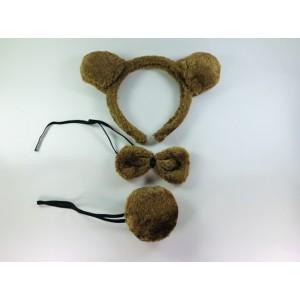 Комплект медведя 3 в 1