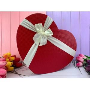 """Коробка в форме сердца """"Simple 3 в 1"""" красная 3 шт."""