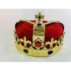 Корона царя бархатная