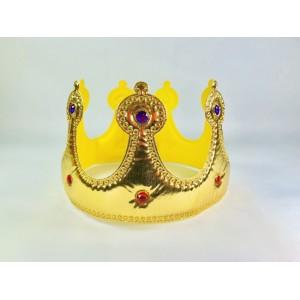Корона мягкая золотая