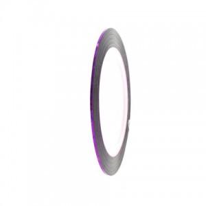 Лента для декора фиолетовая