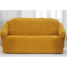 Накидка на диван №6 желтая размер 170Х230