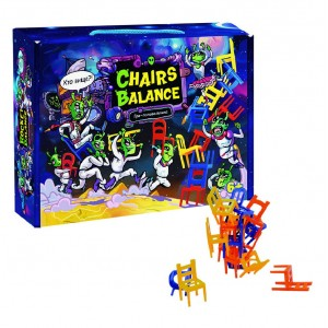 """Настільна гра 30408 (укр) """"Chairs Balance"""", в кор-ці 24,7-18,2-5,5 см"""