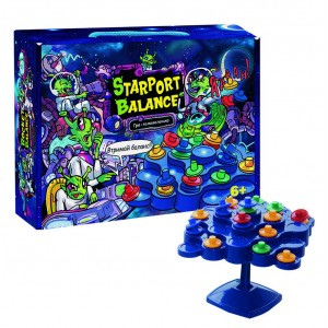 """Настільна гра 30409 (укр) """"Starport Balance"""", в кор-ці 24,7-18,2-5,5 см"""