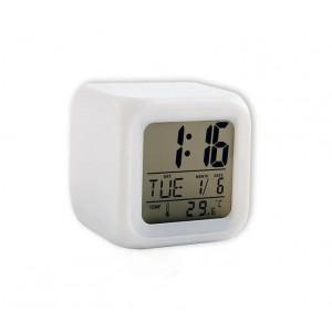 Настольные часы хамелеон Куб Color change CX 508