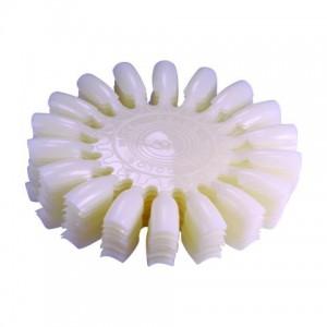 Палитра для красок Ромашка (молоч.) набор по 10 шт
