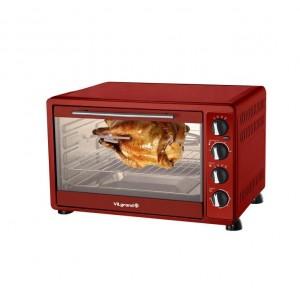 Печь электрическая 48 л ViLgrand VEO484RCL красная