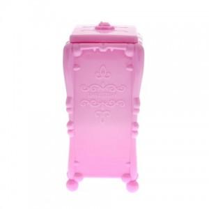 Подставка для салфеток розовая