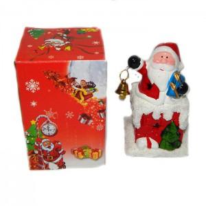 Подсвечник Дед Мороз с колокольчиком