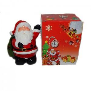 Подсвечник Дед Мороз с мешком подарков