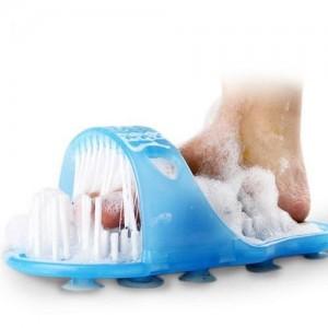 Щётка-массажёр Easy Feet для ног Голубой