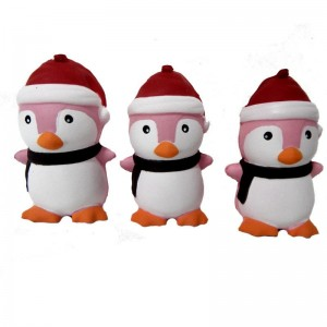 Сквиши Новогодний Пингвинчик