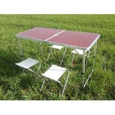 Стол алюминиевый раскладной для пикника