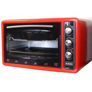 Тостер-піч 40 л ASEL АF-0123 красный