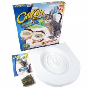 Туалет для кішок (який привчає до унітазу) Citi Kitty