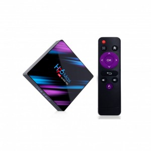 Smart TV Android приставка H96 MAX  (RK3318 4+32 Android 9.0)