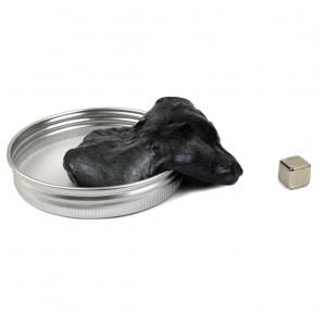 Умный СЕРЫЙ магнитный пластилин Magnetic Putty