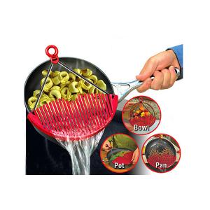 Универсальный друшлаг-накладка для слива воды Better Strainer