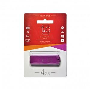 Флешка usb flash T&G 011 Classic series 4GB Purple