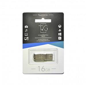 Флешка usb flash T&G 100 Metal series 16GB
