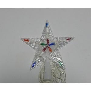 Верхушка Звезда на ёлку маленькая
