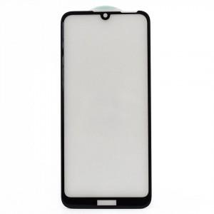 Защитное стекло Full Glue для Huawei Y6 Pro 2019 (в картонной упаковке)- черный