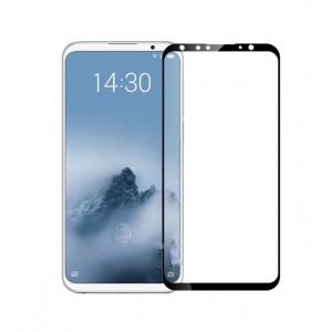 Защитное стекло Full Glue (в картонной упаковке) для Meizu 16th- черный