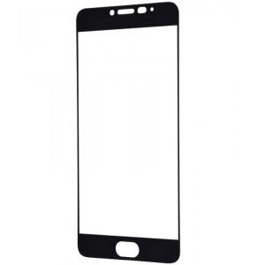 Защитное стекло Full Glue (в картонной упаковке) для Meizu M3- черный