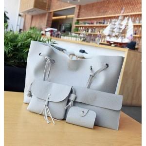 Женская сумка LADY BAG 2B серая