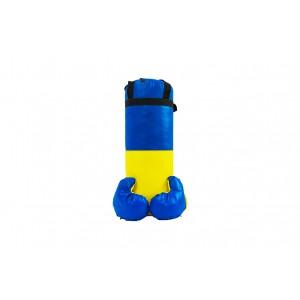 """Боксерський набір """"Ukraine"""" великий (висота 55 см, діаметр 21 см)"""