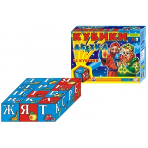 Іграшка кубики Абетка (укр.)