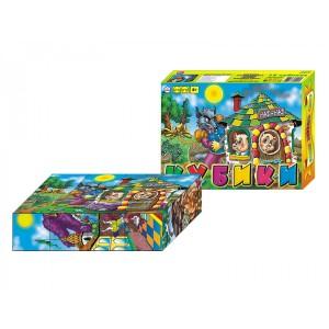 Іграшка кубики Казки народів світу